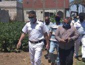 إزالة 12 حالة تعد بالبناء على الأراضى الزراعية ورفع الإعلانات المخالفة بالمنيا