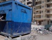 شكوى من محاصرة القمامة لمنفذ توزيع الخبز المدعم فى المطبعة بحى فيصل بالجيزة