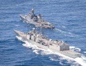 البحرية المصرية والإسبانية تنفذان تدريبا بحريا عابرا بنطاق الأسطول الجنوبي