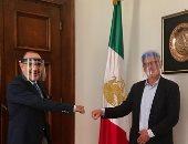 سفير المكسيك يلتقي رئيس منظمة الهجرة الدولية فى القاهرة.. صور