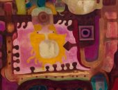 خليك فى البيت.. شاهد لوحات سعيد العدوى ضمن مقتنيات متحف الفنون الجميلة