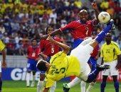 جول مورنينج.. إدميلسون يسجل أفضل أهداف مونديال 2002 ضد كوستاريكا