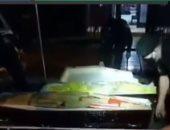 سائق يحاول تهريب مخدرات فى توابيت ضحايا كورونا فى البرازيل .. فيديو