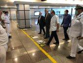وزير الطيران يوجه بتوفير أفضل الخدمات والتسهيلات للركاب بمطار الغردقة