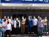 فيديو وصور .. رئيس جامعة القناة تفتتح مستشفى العزل بسعة 114 سريرا و14أخرى للعناية المركزة