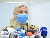 وزيرة التضامن: الصحفيون فى أيدٍ أمينة وندرس ضم العلاوات الخمسة لهم