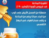 وزارة الصحة تكشف عن فوائد العسل الأبيض فى تقوية المناعة