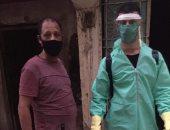 شباب دار السلام يقومون بحملة تطهير وتوفير أدوية للمرضى بالجهود الذاتية