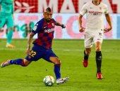 ترتيب الدوري الإسباني بعد سقوط برشلونة في فخ التعادل ضد إشبيلية