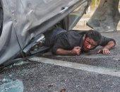 """أحمد العوضى يشوق جمهوره بصور من كواليس مسلسل """"شديد الخطورة"""""""