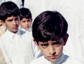 الفرق مش كبير.. ولى عهد دبى ينشر صورتين من الطفولة والشباب
