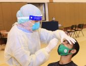 الاتفاق السعودى يجرى مسحة طبية على لاعبى الفريق استعدادا للدورى