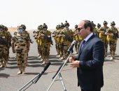 أخبار مصر اليوم.. السيسي: جيشنا قادر على الدفاع عن الأمن القومى بالداخل والخارج