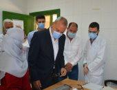 محافظ القليوبية يتابع أعمال القوافل العلاجية العاملة ضمن مبادرة 100 مليون صحة