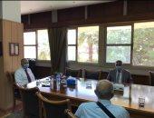 وزير الرى يبحث التعاون مع جامعة القاهرة فى مجال الدراسات والبحث العلمى