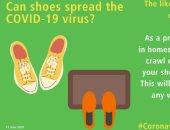 هل يمكن لفيروس كورونا أن ينتشر من خلال الأحذية وكيف نغسل الخضروات والفاكهة؟
