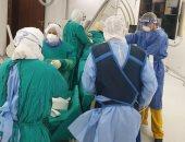 الرعاية الصحية تعلن نجاح أول عملية قسطرة علاجية لقلب مريضة مصابة كورونا