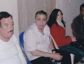 """أحمد السبكى يستعيد ذكرياته مع الراحل حسن حسنى بصورة من كواليس فيلم """"الفرح"""""""