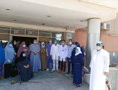 صحة بنى سويف: تعافى 13 مصابا بكورونا وخروجهم من مستشفى الواسطى