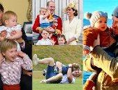 عيد الأب..أمراء وملوك غيروا البروتوكولات الملكية ليستمتعوا بالوقت مع أطفالهم