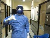 """الجيش الأبيض.. """"محمد"""" ممرض على خط مواجهة كورونا بالحجر الصحي جامعة المنصورة"""