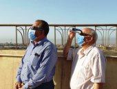 معهد الفلك يتابع الكسوف بمرصد حلوان.. ويحذر المواطنين من النظر للشمس (صور)