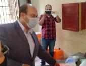 صور .. نائب محافظ الجيزة يتفقد لجان امتحانات الثانوية العامة بأوسيم