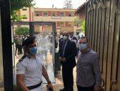 مدير تعليم القاهرة يتفقد لجان الثانوية العامة ويترأس غرفة العمليات.. صور