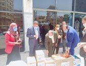 تنسيقية الأحزاب والمصريين الأحرار يدعمان مديرية صحة المنوفية بالمستلزمات الطبية