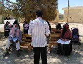 صور.. حملة للتوعية بفيروس كورونا لسيدات ورجال سيناء