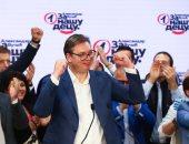 صور.. الرئيس الصربى يعلن عن فوز حزبه فى الانتخابات البرلمانية