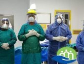إجراء ولادة قيصرية لمصابة بكورونا بمستشفى إسنا للعزل الصحى.. صور