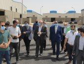 محافظ بنى سويف يتفقد الأعمال بمشروع مجمع الصناعات الصغيرة والمتوسطة