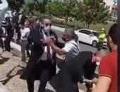 بالفيديو.. الشرطة التركية تقمع تظاهرة لمحامين ضد حزب العدالة والتنمية