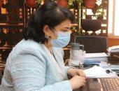 نائبة رئيس جامعة المنوفية تتابع الاستعدادات النهائية للامتحانات