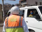 أمن أسوان يرصد 315 مخالفة مرورية وضبط سائقين لتعاطى المخدرات