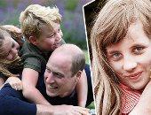 فولة واتقسمت نصين.. الأميرة شارلوت نسخة من جدتها ديانا فى طفولتها.. صور