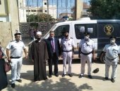 صور ..رئيس المنطقة الأزهرية بالإسكندرية يتابع سير امتحانات الديناميكا