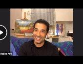 عمرو سعد فى لايف اليوم السابع: تجسيد شخصية العالم زويل من أهدافى المؤجلة