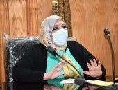 استعدادات قصوى للطب الوقائى بجامعة القناة لامتحانات السنوات النهائية
