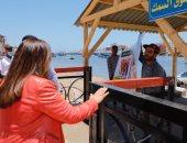 محافظ دمياط: السوق الحضارى نقل نوعية بالمنطقة ويشمل 5 باكيات  (صور)