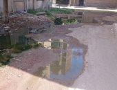 شكوى من غرق مساكن المستشفى العام فى شبين الكوم بمياه الصرف الصحى بالمنوفية