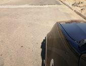 شكوى من تواجد مطب يؤدى لتهالك السيارات بشارع البردى بمدينة الشروق