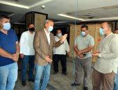 محافظ القليوبية يقوم بجولة مفاجئة لتشغيل مستشفى كفر شكر المركزى