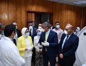 وزيرة الصحة تتابع تجهيز مستشفى التأمين الصحى بالفيوم لاستقبال مصابى كورونا