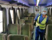 السكة الحديد: مستمرون فى تطبيق غرامة 50 جنيها على مخالفى قرار ارتداء الكمامة