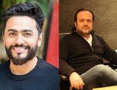 """تامر حسنى يتعاون مع عادل حقى فى أغنية """"هقولها تانى""""من ألبومه الجديد"""