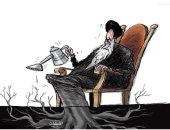 كاريكاتير صحيفة سعودية.. إيران ترعى الميليشيات لزعزعة الاستقرار