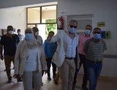 سكرتير عام محافظة البحر الأحمر يتفقد مستشفى الحميات والغردقة العام.. صور