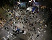 استمرار التظاهرات بمدينة سياتل الأمريكية احتجاجا على عنف الشرطة .. صور